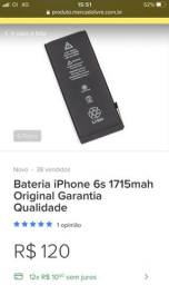 Bateria Apple IPhone 6s nova
