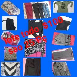 LOTE roupa feminina