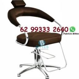Cadeiras Hidráulicas com pé de Alumínio Hot Bittes Cosméticos