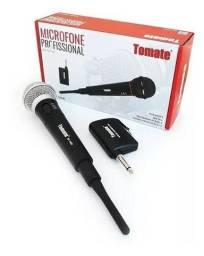 Microfone Sem Fio Profissional Tomate Mt1002 Profissional