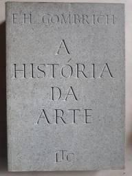 Livro A história da arte - E.H. Gombrich