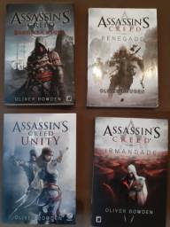 Livros da série Assassins Creed