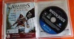Jogos de PS3 em ótimo estado.