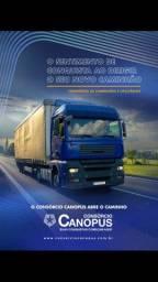 Caminhão consórcio