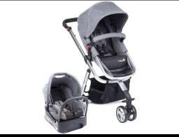 Carrinho de bebê safety 1st cinza