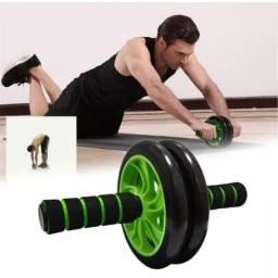 Roda Rolinho Exercícios Abdominal Aparelho Fitness Treino