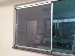 Telas Mosquiteiras esquadrias de aluminio com tela fibra de vidro