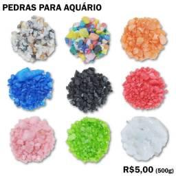 Título do anúncio: Pedras para Aquário 500g