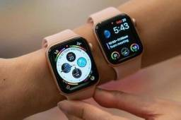 Apple Watch Series 5 40mm Gold - Seminovo -Loja Centro de Niterói