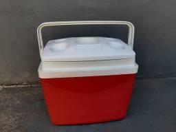 Caixa térmica 32 litros- global - sol- nova- nunca usada.