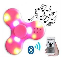 Fidget Hand Spinner Bluetooth Música Led - 7768