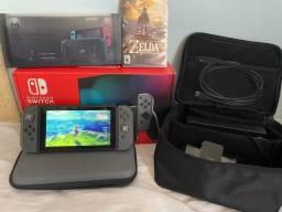 Título do anúncio: Nintendo switch +Garantia+acessórios