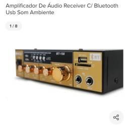 Amplificador karaokê