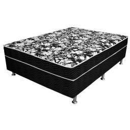 Cama Box - Box Casal Confort 138cm - Cama Box