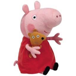 Título do anúncio: Peppa Pig Pelúcia 19 cm super fofa