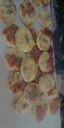 Tortellete e mini pizza.