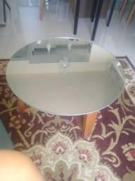 Linda mesa espelhada centro