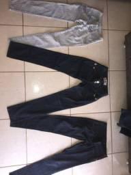 Calças Jeans Feminino...