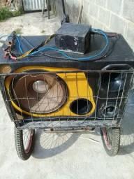 Título do anúncio: Triciclo completo com freio a disco