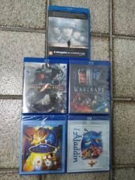 Lote de filmes Blu-ray Lacrados e novos!
