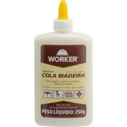 Título do anúncio: Cola Adesivo Cola para Madeira 250G Worker