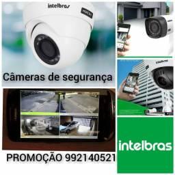 PROMOÇÃO kit com 4 câmeras em HD alta resolução 1.500 até em 4x