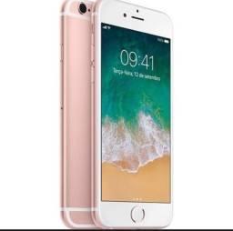 Phone 6s 16 Gb Rose Gold Ram 2 Gb (Com 6 capinhas)