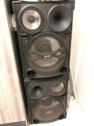 Par, caixa de som Sony Sh2000