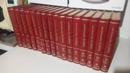 Vendo lote de Enciclopédia Barsa 16 VOLUMES