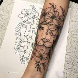 Faço sua tattoo em troca de algo do meu interesse *