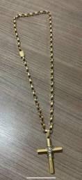 Cordão de ouro 18k 38gramas