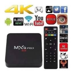 Tv Box MXQPro 4K/5G (Produto Novo)