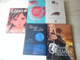 Livros de romance e livros de fantasia