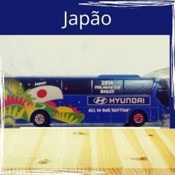 Título do anúncio: Miniatura Ônibus Hyundai Copa Mundo no Brasil 2014 Fifa