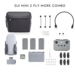 Dji Drone Mavic Mini 2 Fly More Combo Caixa Lacrada