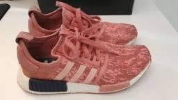Tênis Adidas nmd R1 raw rosa ORIGINAL