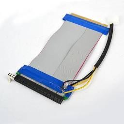 Cabo Extensor Riser Card PCI-E x16 c/ Molex 19cm - Realengo