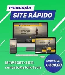 Título do anúncio: Criação de Sites Recife - Domínio e hospedagem grátis por 1 ano