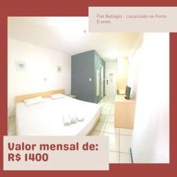 Alugo flat na Ponta D'Areia