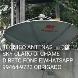 Tecnico Sky Claro Oi preço serviço fixo em Manaus leia anúncio