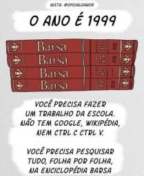 Tenha a Nova Enciclopédia Barsa na estante