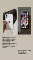 Título do anúncio: iPhone 11, 64 GB