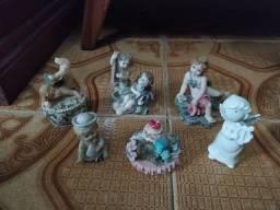 Kit de anjinhos em louça
