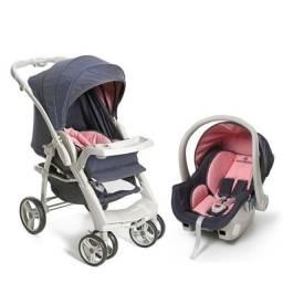 GALZERANO OPTIMUS - Carrinho de Bebê + Bebê Conforto + Base para carro