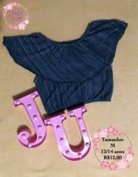 Título do anúncio: Blusa Cropped Infantil