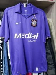 Camisa Corinthians roxa 2008 Original P
