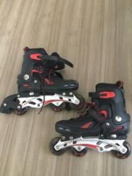 Par de patins OXER Aluminum ajustável 36 a 40
