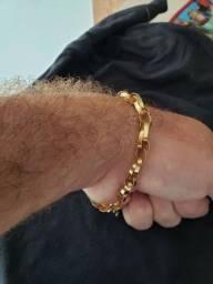 Vendo pulseira de ouro 18k 22cm 10.5g top demais