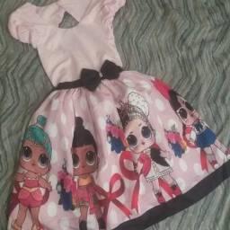Vestido Lol Tamanho 10 - Promoção