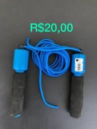 Título do anúncio: 1 pula cordas com contador: R$20,00